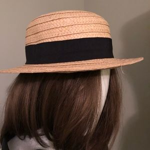 Accessories - Straw boater hat